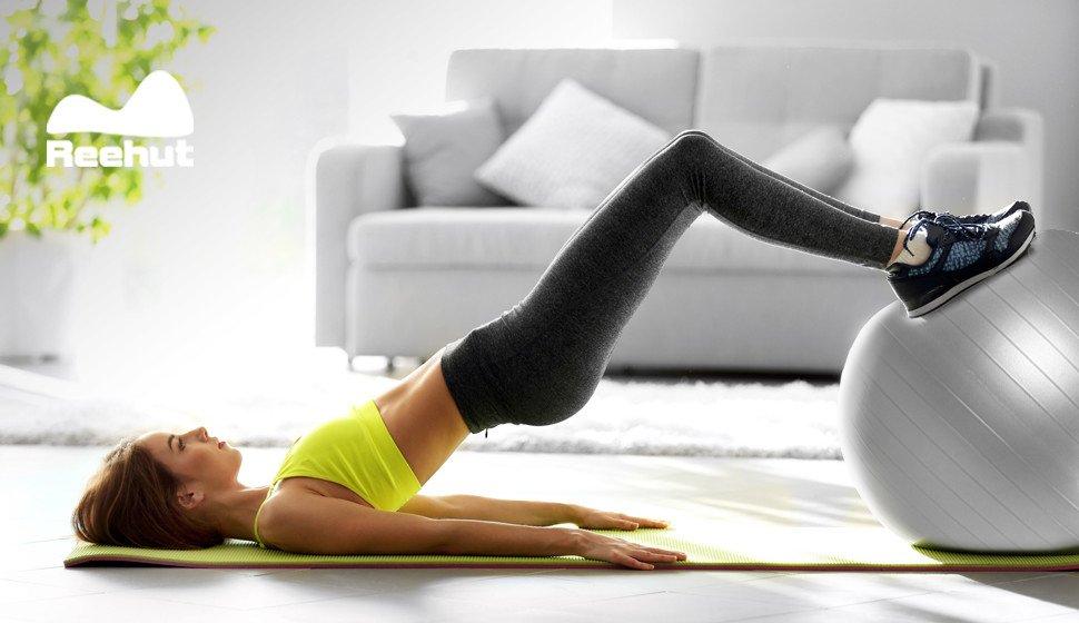Pelota de Ejercicio Anti-Burst para Yoga, Equilibrio y Fitness